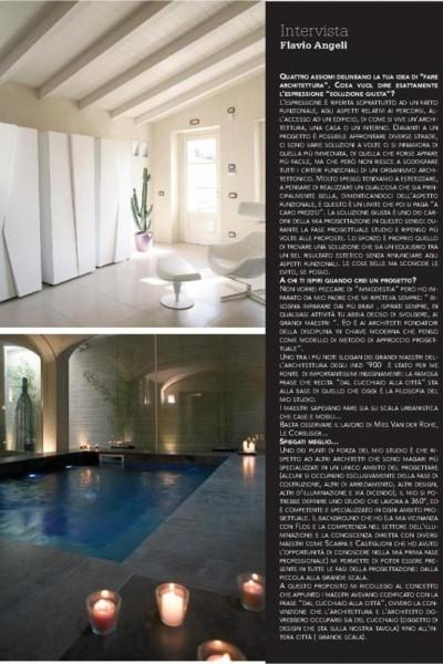 Intervista - Flavio Angeli architetto  29b3b6d3475